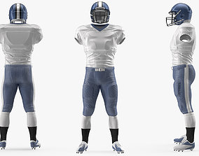 3D American Football Player Uniform