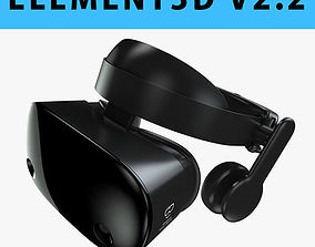 E3D - 3D model Samsung Odyssey Windows Mixed VR Headset 1