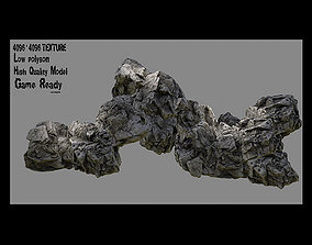 stone Rocks 3D model VR / AR ready