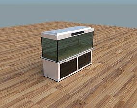 3D model game-ready Modern Aquarium
