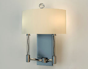 Sconce Hudson Valley 3002-PN 3D model