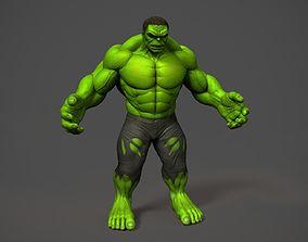 3D print model good THE INCREDIBLE HULK