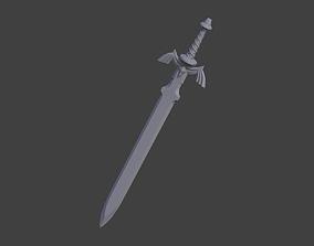 Master Sword - The Legend of Zelda 3D printable model 3