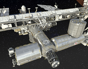 apollo International Space Station ISS 2019 3D