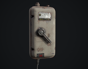 Enclosed Switch Prop for Unreal Engine 3D asset