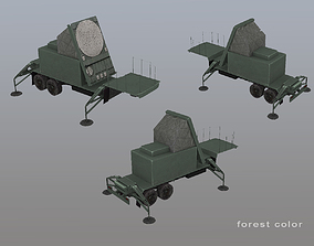 MIM-104 Patriot AN-MSQ-53 Radar 3D asset