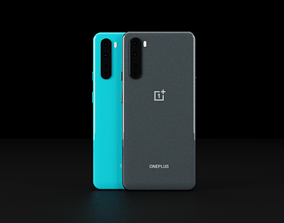 OnePlus Nord In All Official Colors 3D asset low-poly