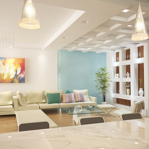 3d visualisation of interior design
