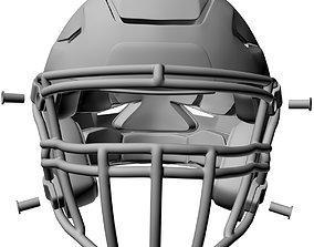 3D printable model Riddell Speed Flex Football Helmet