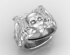Skull Ring Man ring 3D printable model