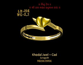 goldring fashion-and-beauty 3D asset game-ready ladies ring