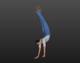 Tall Man 3D model