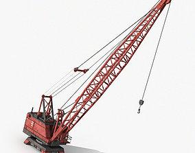 Indusctrial Crane 3D asset