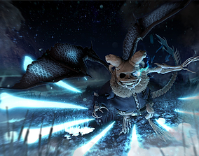3D Sans Reborn Character RIgged