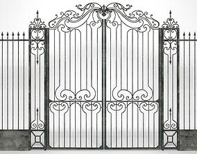 3D Classic Iron Gate