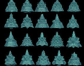 20 fractal cone 3D print model pattern