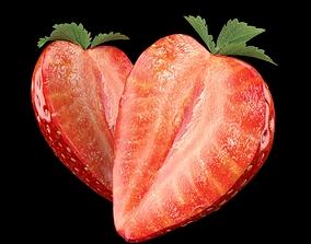 Strawberry Slice 3D