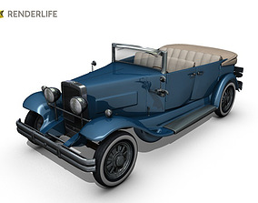 3D Car Roadster 3