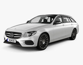 Mercedes-Benz E-Class S213 AMG Line estate 2016 3D