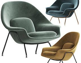 Knoll Saarinen Womb Chair 3D