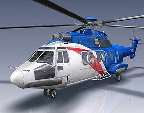 Eurocopter EC 225 3D model