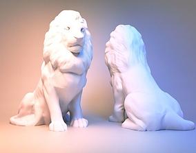 Lion Sculpture 3d print model 3D print model
