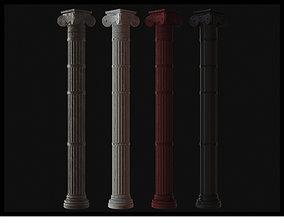 Roman Column 3D Model - SFDEMIR low-poly