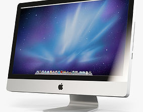 Apple IMac 27 2010 2011 3D model jobs