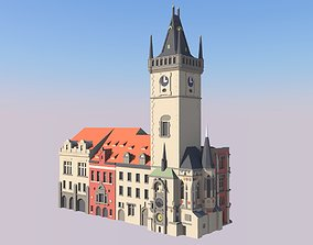 3D printable model Prague Old City Hall