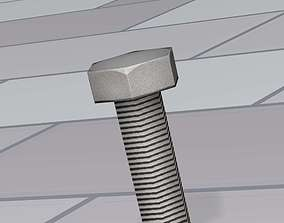 Low-Poly Screw 3 - Object 083 3D model