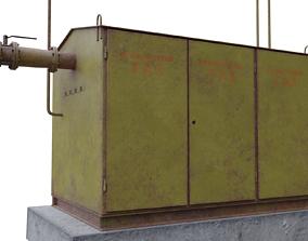 3D model Gas distributor station