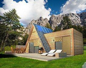 Alpine style home 3D