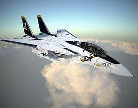 3D F-14A Tomcat VF-84 Jolly Rogers 1977