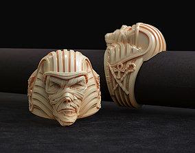 ring Pharaoh mummy 3D model