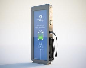 3D Street car charger