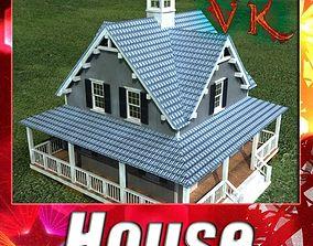 House Vray Scanline 3D