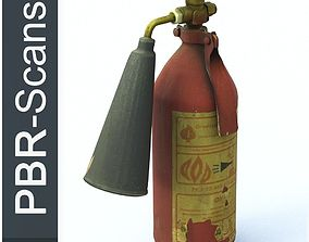 Fire extinguisher2 high poly 3D model