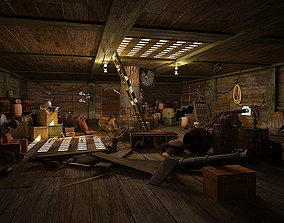 Armory Cabin 3D