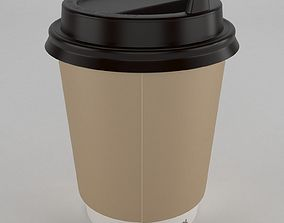 coffee cup takeout 3D model