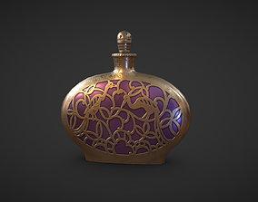 Perfume Flask Peafowl 3D asset