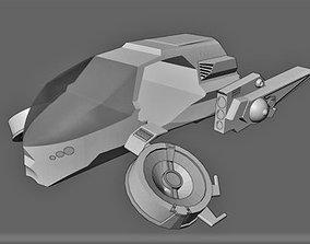 Flying car R187 aka futurecar 3D