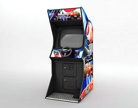 3D asset Arcade Video Game Racing