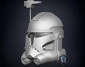 Animated Captain Rex Helmet 3D print model