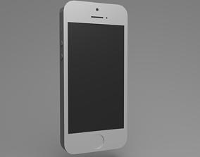 Apple Phone 5 3D asset