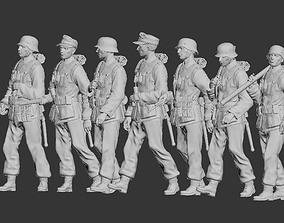 officer 3D print model German soldiers