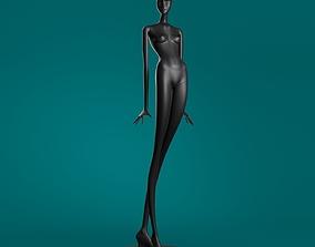 sketch Mannequin 601 coll60 3D