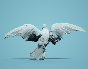 Low Poly Bird Model