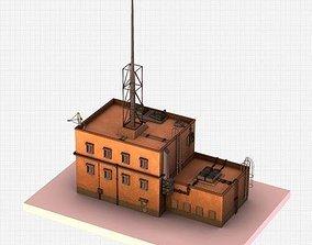 3D model Ghetto Building Futuristic