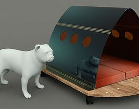 Dog House Project - House 02 3D asset realtime
