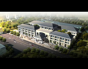 High-end Building for Hotels 3D